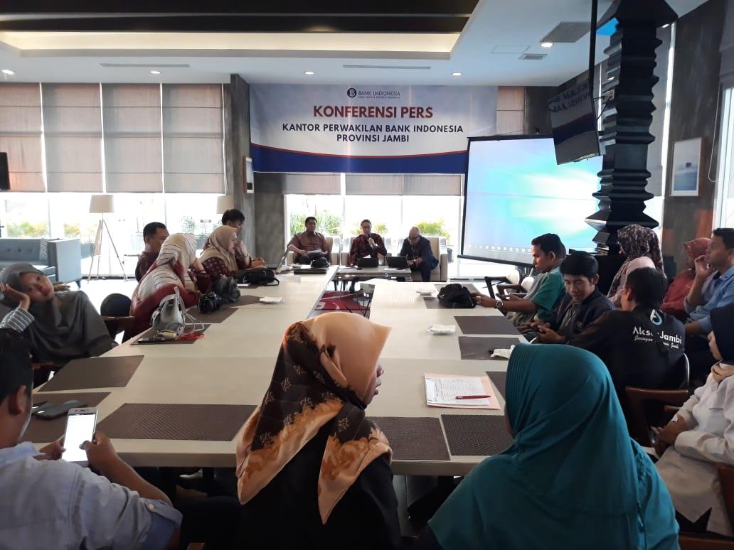 Jumpa pers Bank Indonesia Jambi