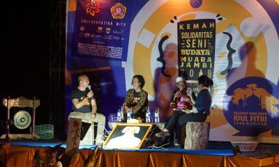 Kemah solidaritas seni budaya Candi Muara Jambi 2019