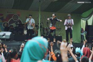 Panggung hiburan di Festival Solidaritas Candi Muarajambi