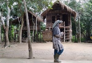 Penduduk Usai Pulang dari Umo